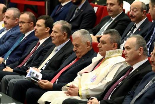 Başbakan Binali Yıldırım, ÇOMÜ'nün akademik yılı açılış törenine katıldı