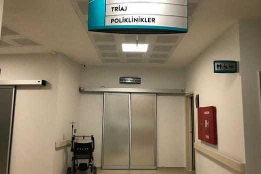 Hastane odaları otel konforunda