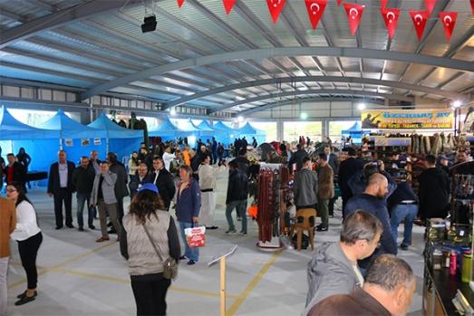 Kepez'de atıcılık avcılık fuarı açıldı