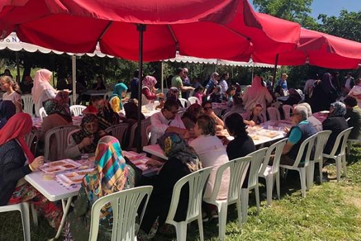 Geleneksel Çınarlı köyü hayrı gerçekleştirildi