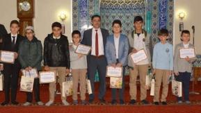 """Bayramiç'te """"Kur'an-ı Kerim'i Güzel Okuma"""" yarışması"""