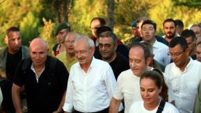 Adalet Kurultayı'na katılanlar 57. Alay yolundan Conkbayırı'na yürüdü