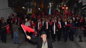 Biga'da coşkulu Cumhuriyet Bayramı kutlaması