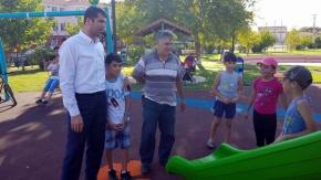Başkan Arslan, çocuklara verdiği sözü tuttu