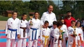 Bigada karate şöleni sona erdi