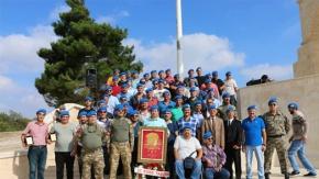 57. Komando Taburu Dostluk Grubu Tarihî Alan'da