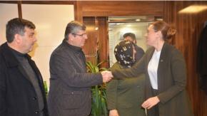 Başkan Karadağa yoğun destek
