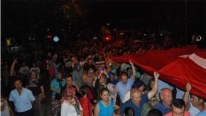 15 Temmuz, Bayramiç'te anıldı