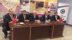 CHP'den Kilis'e moral ziyareti