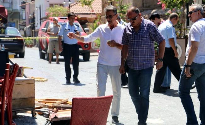 Antalya'da tüp patlaması