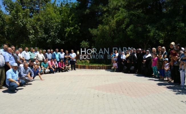 Bolvadinli gurbetçiler Horan Parkta bir araya geldi