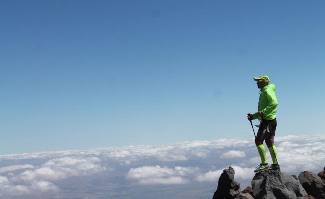 Erciyes'te zirve tırmanışları başladı