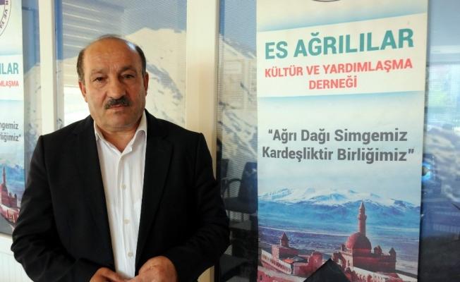 Es Ağrılılar Derneği Başkanı Karaca, Büyükerşen'e yapılan saldırıyı kınadı