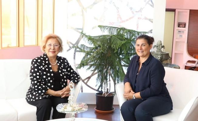 Eski bakan İmret Aykut'tan Başkan Çerçioğlu'na ziyaret