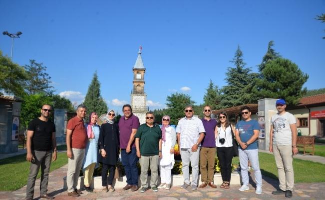 İstanbul Kültür Varlıklarını Koruma Bölge Müdürlüğü üyelerinden Bilecik'e ziyaret