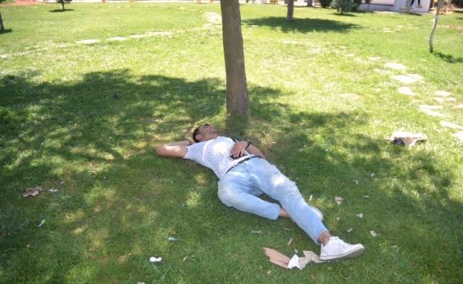 Malatya'da hava sıcaklığı bunaltıyor