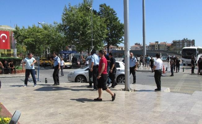 Meydan kavgasını polis önledi