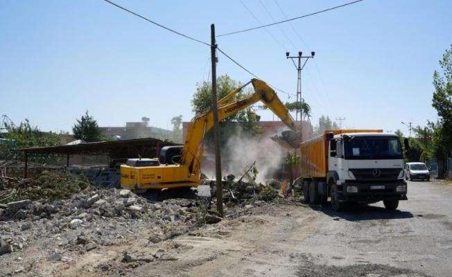 Oduncular Sitesinde yıkım işlemi başladı