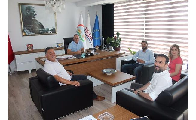 TKDK Çanakkale İl Koordinatörlüğü Danışmanlarıyla Bir Araya Geldi