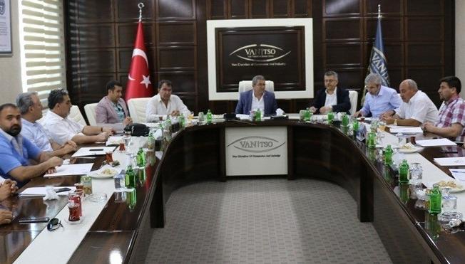 Van Ekonomi Konseyinden aylık olağan toplantı