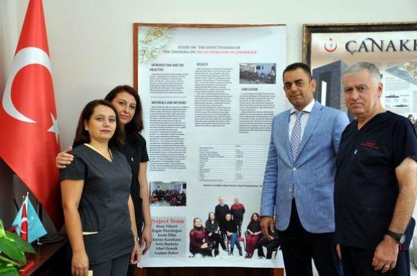 2017 Uluslararası Organ Nakli Koordinatörleri Kongresi'nde Temsil Ediliyor