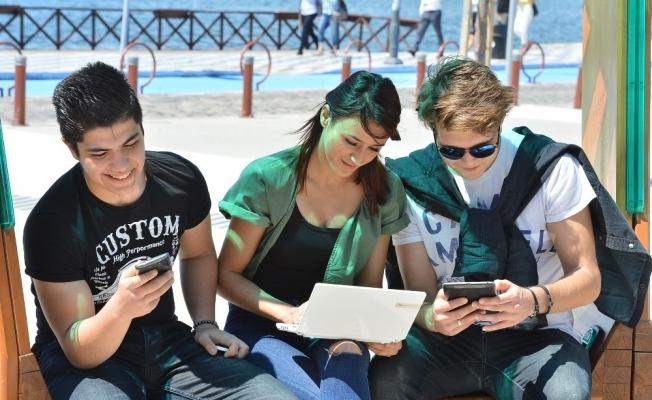 3 milyon İzmirliye ücretsiz internet