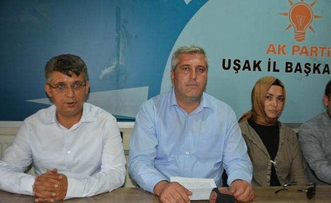 Ak Parti Uşak İl Başkanı Servet Kuş, il kongresinde aday olmayacak