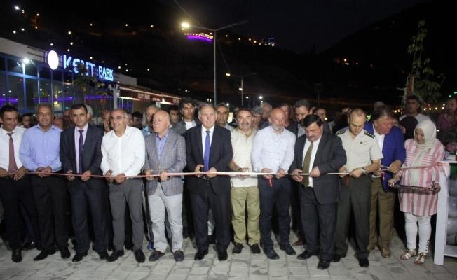 'Artvin Kültür Sanat ve Yöresel Ürünler Tanıtım Fuarı'nın törenle açıldı