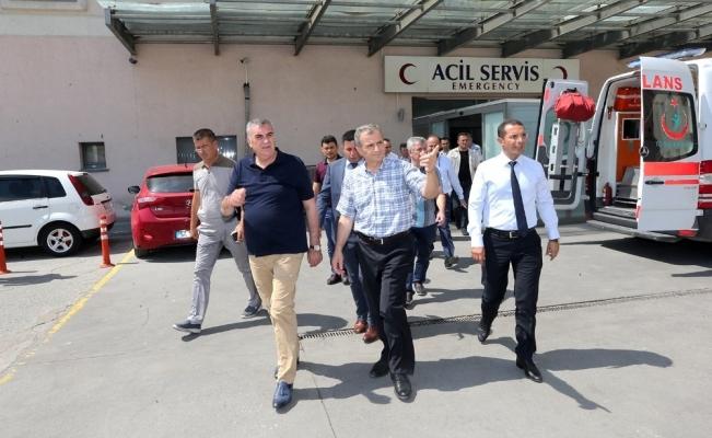Başkan Toçoğlu, SEAH çevresinde incelemelerde bulundu