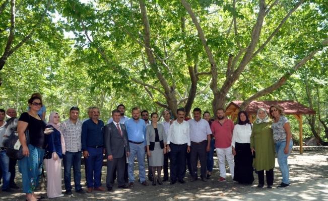 Buharkent'in ilk mesire alanı tanıtıldı