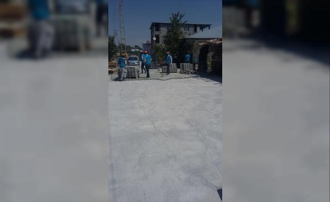 İpekyolu Belediyesinden yol yapım ve onarım çalışması