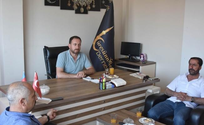 MHP'den Küresünniler Derneğine ziyaret
