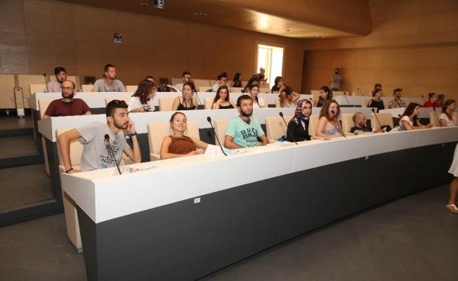 Yabancı öğrencilerden Nilüfer Belediyesi'ne ziyaret