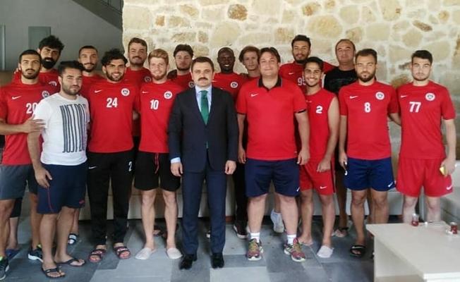 Kaşdemir'den Lapsekispor'a ziyaret