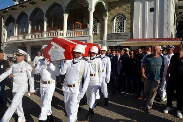 Kıbrıs Gazisi Albay Özdirek dualarla uğurlandı