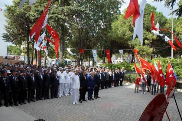 Lapseki'nin kurtuluşunun 95'inci yıldönümü kutlamaları