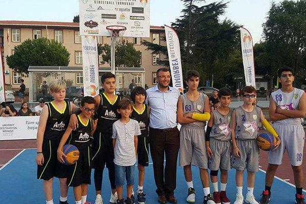 Umurbey Belediyesinden Basketbol şöleni