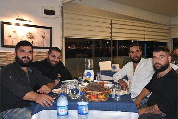 Balıkçılar Boğaz Restoran'da Eğlendi
