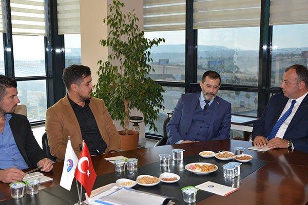 MHP'den ÇTSO'ya ziyaret