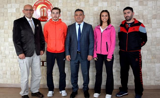 Usta ve Böltül Dünya Karate Şampiyonası'nda