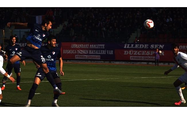 Düzcespor:1  Çanakkale Dardanel FK:1