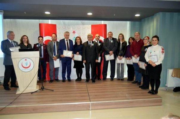 Organ bağışına katkı sunanlara teşekkür belgesi