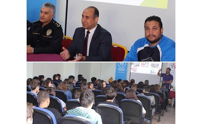 Spor'da şiddet semineri yapıldı