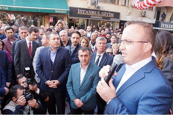 """Turan; """"Türkiye kimsenin emir eri değildir"""""""