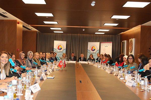 Türkiye -Tunus kadın girişimcileri buluştu