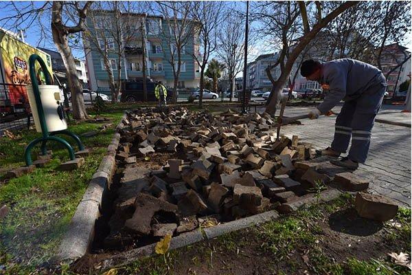 Ahmet Taner Kışlalı Parkı yenileniyor…