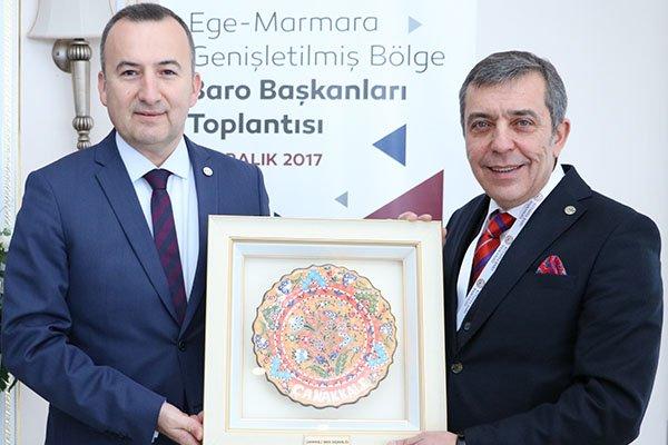Baro Başkanları Kütahya'da buluştu