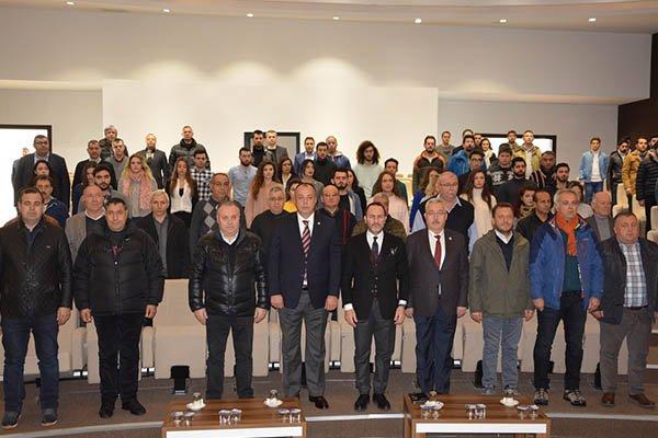 ÇTSO'da Prof. Dr. Emre Alkin ile söyleşi
