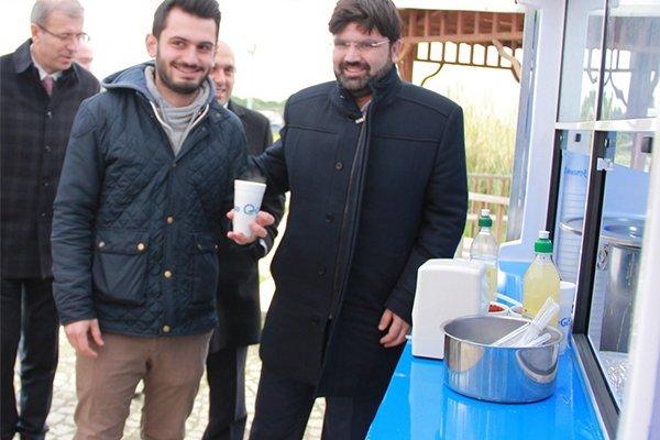 Gestaş'tan öğrencilere sıcak çorba ikramı