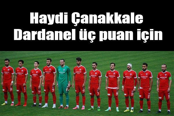 Haydi Çanakkale Dardanel üç puan için
